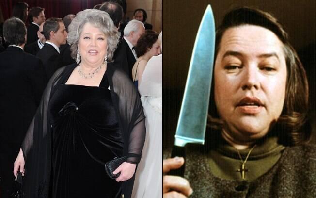 Entre muitos prêmios, Kathy Bates ganhou um Oscar por sua atuação em