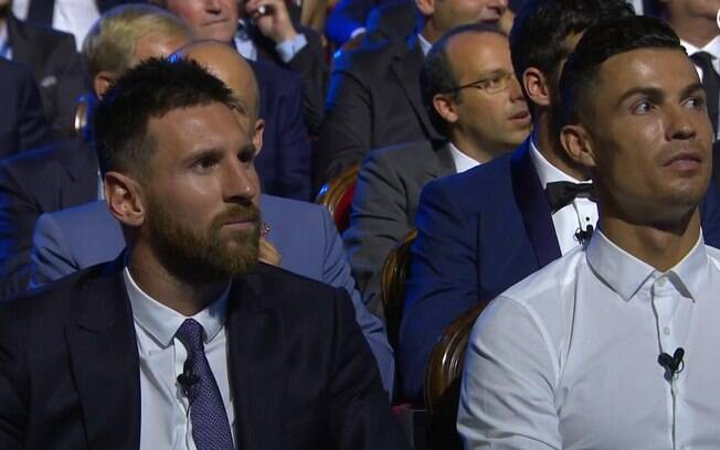 Messi e Cristiano Ronaldo