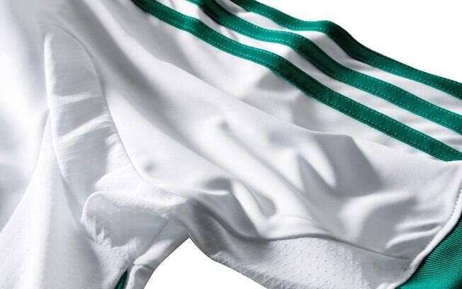 Detalhe da nova camisa 2 do Palmeiras