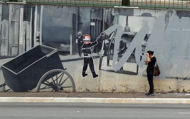 A Justiça decidiu proibir a prefeitura de apagar grafites sem autorização do conselho de preservação do patrimônio