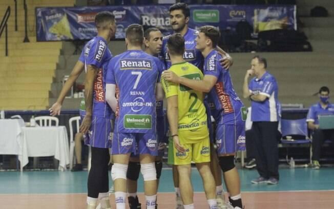 Vôlei Renata vence partida e retoma 3º lugar na Superliga