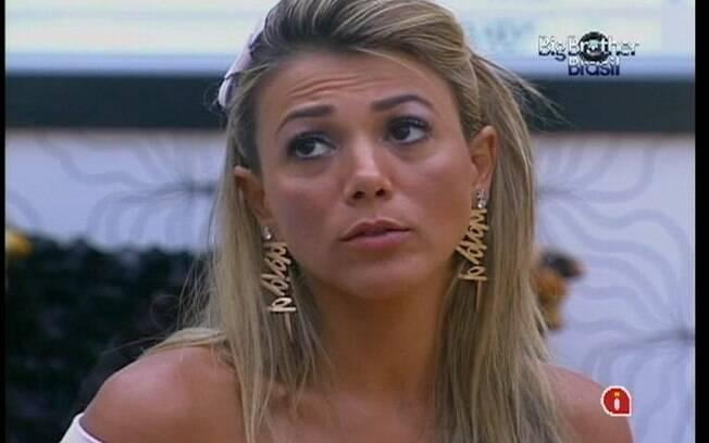 Para Fabiana, Rafa faz o jogo da sedução