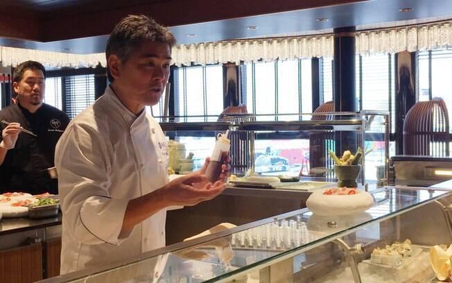 O chef pan-asiático Roy Yamaguchi estreou sua parceria com a MSC no Seaside, e, agora, virá ao Brasil a bordo do Seaview