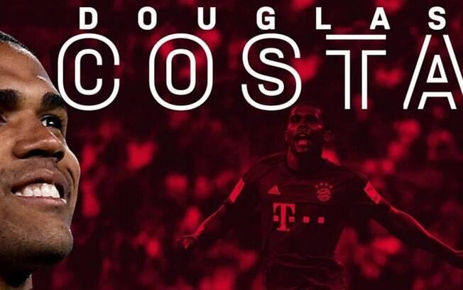 Douglas Costa é anunciado oficialmente pelo Bayern de Munique
