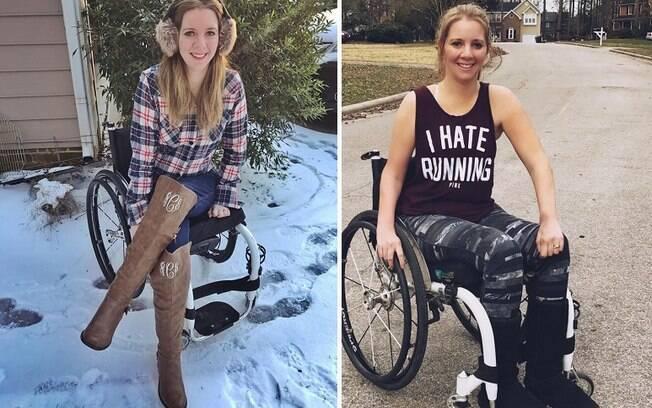 Rachelle tornou-se paraplégica após um acidente durante a própria despedida de solteira