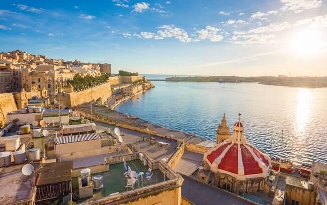 Malta é um dos melhores destinos para se casar e passar a lua de mel na Europa