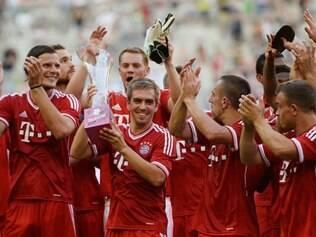 Equipe de Ribéry e Robben levou o título do torneio amistoso do verão alemão