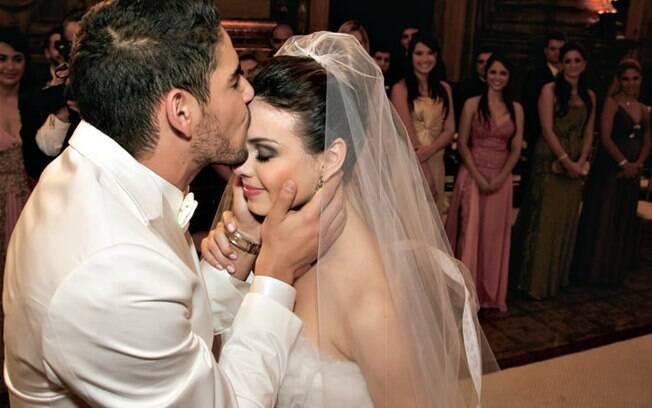 A festa de casamento de Sthefany Brito e Alexandre Pato foi avaliada em R$1 milhão