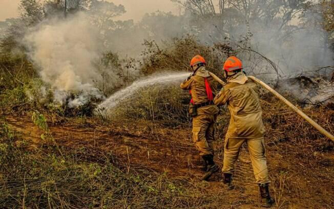 Governo federal autoriza envio de Força Nacional ao Pantanal, para auxiliar no combate aos incêndios