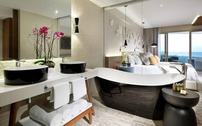 Os quartos são higienizados por 48 horas após a saída do hóspede e lacrado para o próximo visitante