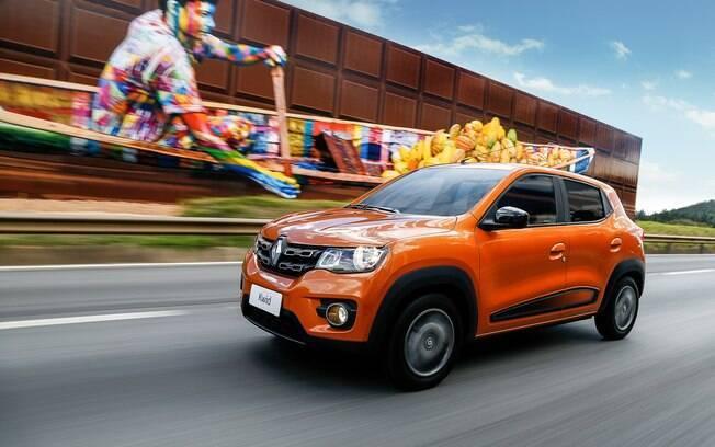 Renault Kwid tem desenho que agrada, alta distância livre do solo e bons ângulos de ataque e saída, como num SUV