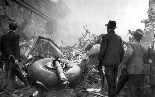 O terrível acidente aéreo que vitimou toda a delegação do Torino