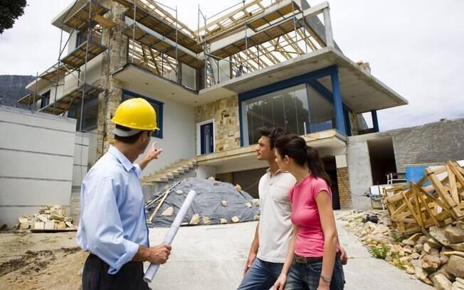Antes de dar início à construção, escolha um profissional que se identifique com o seu estilo e da sua família