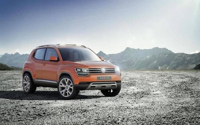 Volkswagen Taigun, protótipo do modelo de produção que poderá ser rival do novo SUV da Hyundai menor que o Creta