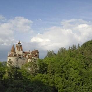 Castelo do Drácula, na Transilvânia