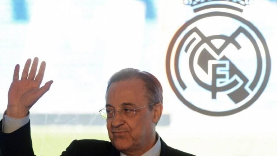 Presidente do Real Madrid, Florentino Pérez tem áudios vazados