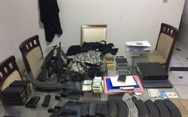 Elton Rumich, o Galant,preso na última terça, é acusado de envolvimento com o grupo libanês e tinha arsenal em casa