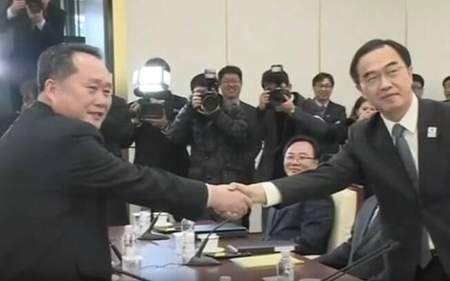Coreia do Norte enviará uma delegação para os Jogos Olímpicos de Pyeongchang, na Coreia do Sul