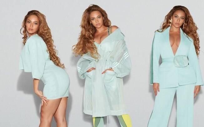 Beyoncé publica diversas fotos em seu Instagram com os looks da sua nova coleção IVY PARK X Adidas
