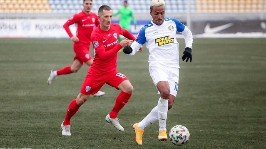 Alvaro Vieira é um dos destaques do FC Lviv, da Ucrânia