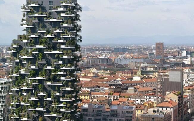 Prédio acabou mudando o skyline da cidade italiana