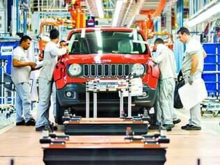 Exclusivo.  Por enquanto, o Jeep Renegade será o único veículo produzido na nova fábrica da Fiat