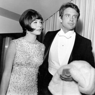 Shirley McLaine com o irmão Warren Beatty em 1956
