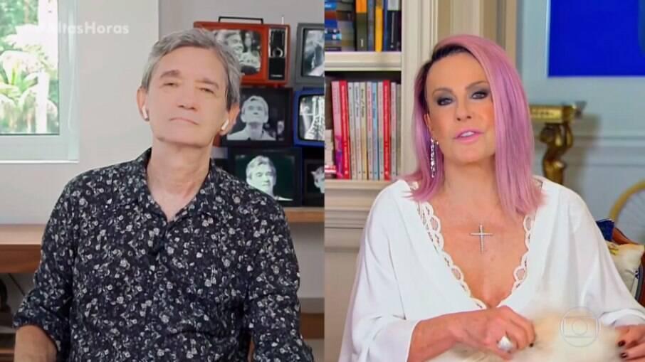 Serginho Groisman e Ana Maria Braga