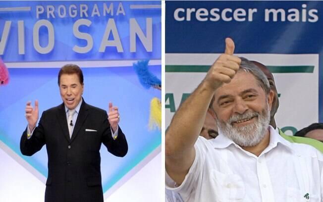 Silvio Santos faz brincadeira sobre profissão de Lula