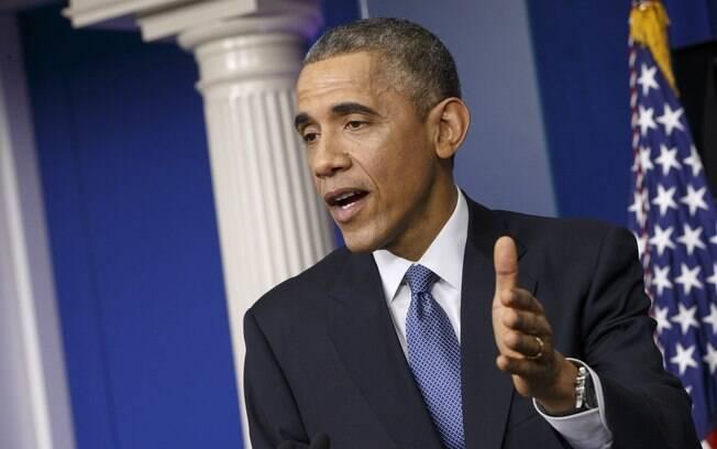 Barack Obama autorizou as sanções (janeiro/2015)