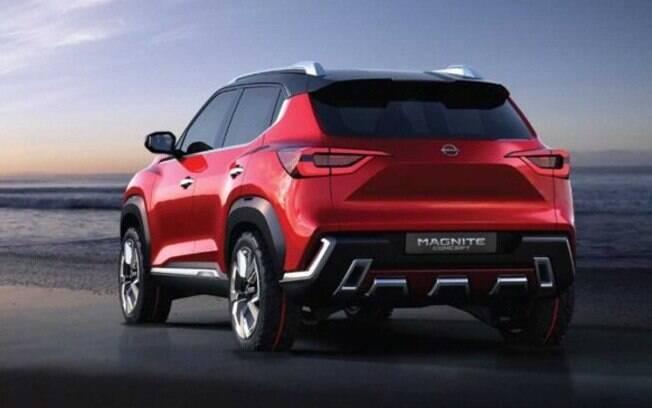 Nissan Magnite  tem linhas arrojadas que seriam bem aceitas no mercado brasileiro, onde a parte estética é importante para o sucesso
