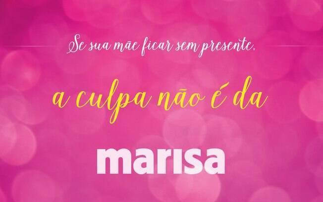 Marisa usou redes sociais para fazer campanha polêmica de Dia das Mães