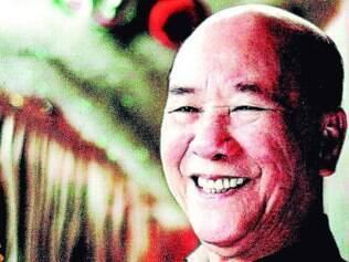 Mestre. Aos 80 anos, Chan Kowk Wai reúne a bagagem de 53 anos dedicados às práticas chinesas