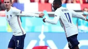 Gol de atacante do Barcelona salva a França em empate com a Hungria