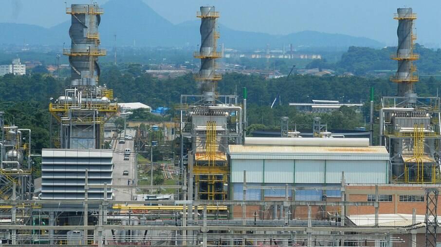 Usina Termelétrica Euzébio Rocha, em Cubatão, São Paulo