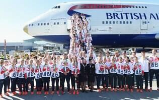 Festa marca retorno da equipe olímpica britânica após recorde no Rio 2016