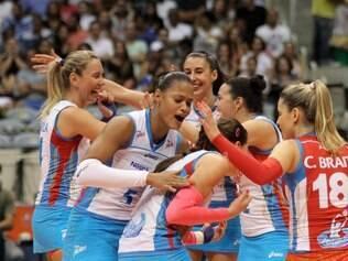 Equipe de Osasco comemorou muito a vitória na última rodada sobre Unilever-RJ