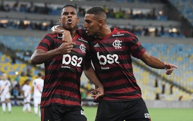 Flamengo bateu o Vasco