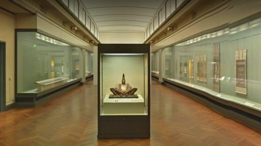 De dentro do Museu Nacional de Tóquio