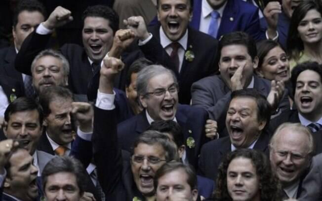 'Tropa de choque' de Cunha, responsável por sua eleição em 2015, defendeu o peemedebista no Conselho de Ética