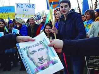 Conflito. Votação sobre separação na região da Crimeia, onde a maioria aprova a influência de Moscou, está marcada para 16 de março