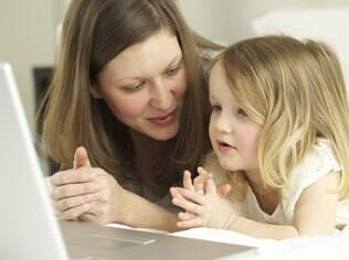 Crianças já convivem com avanços da tecnologia