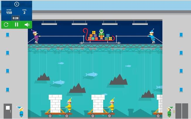 Site do Google traz jogos com temas natalinos