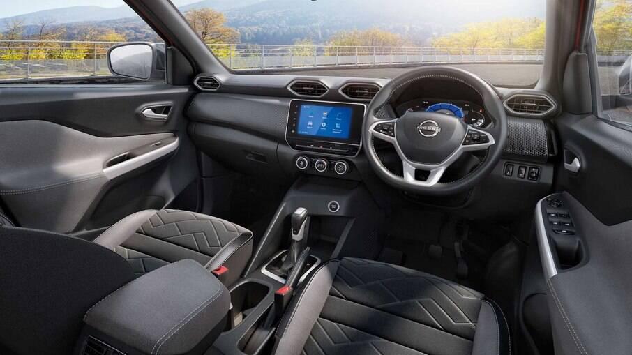 Nissan Magnite aposta em visual arrojado e bom pacote de equipamentos nas versões mais caras