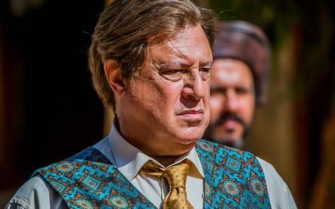 O ator Antonio Fagundes usou os recursos da figuração para parecer mais jovem na segunda fase da novela