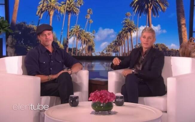Ellen DeGeneres e Brad Pitt