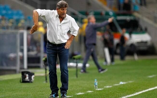 Renato Gaúcho é técnico do Grêmio e poderá ser beneficiado pela CBF