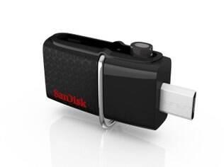 O novo SanDisk Ultra Dual Drive USB 3.0 está disponível em 16 GB, 32 GB e 64 GB