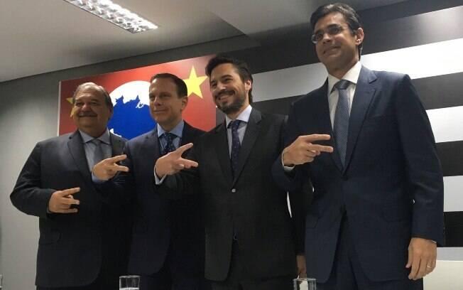 Mais dois secretários do governo de João Doria foram anunciados hoje: José Henrique Guermann e Gustavo Junqueira