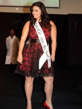 Bastante aplaudida, Barbara Monteiro ganhou o título de gordinha mais bonita do Brasil